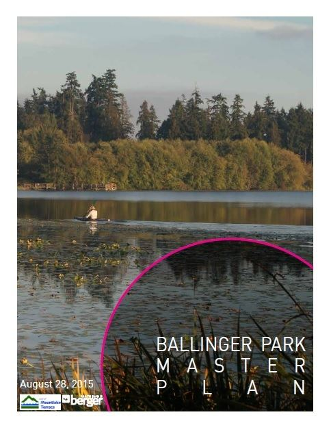 Ballinger Park Master Plan Document Cover