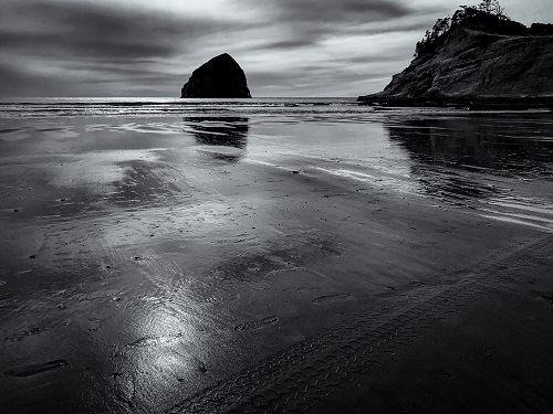 McDaniel_Larey-Haystack_Pacific_City_Oregon - Photograph