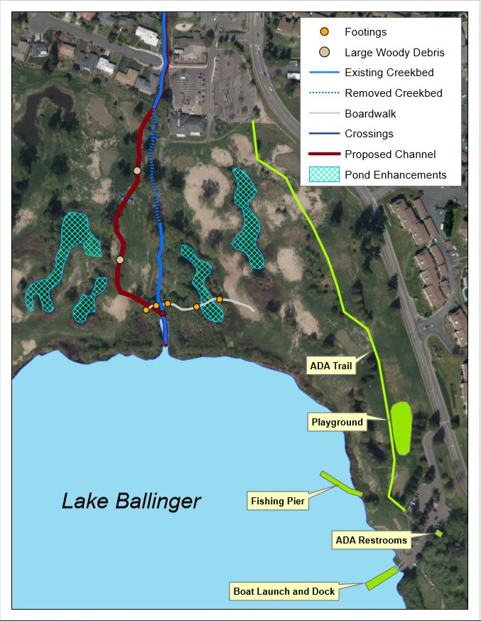 Ballinger Park Water Improvements