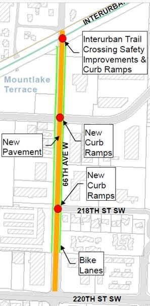 66th Avenue Reconstruction Graphic