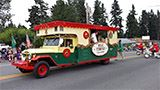 Nile Temple Calliope car in parade.
