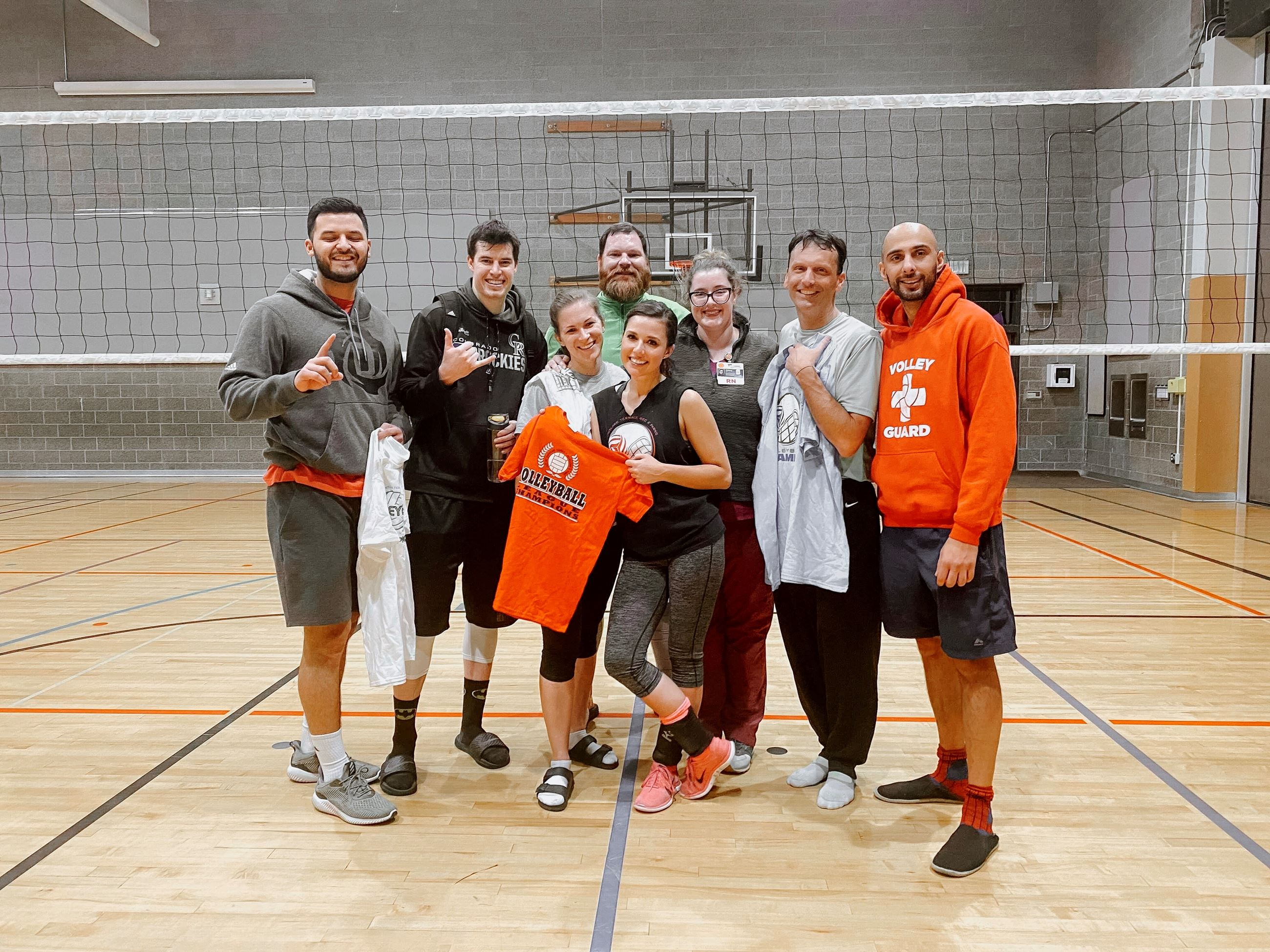 Volleyball Leage Champs Winter 18