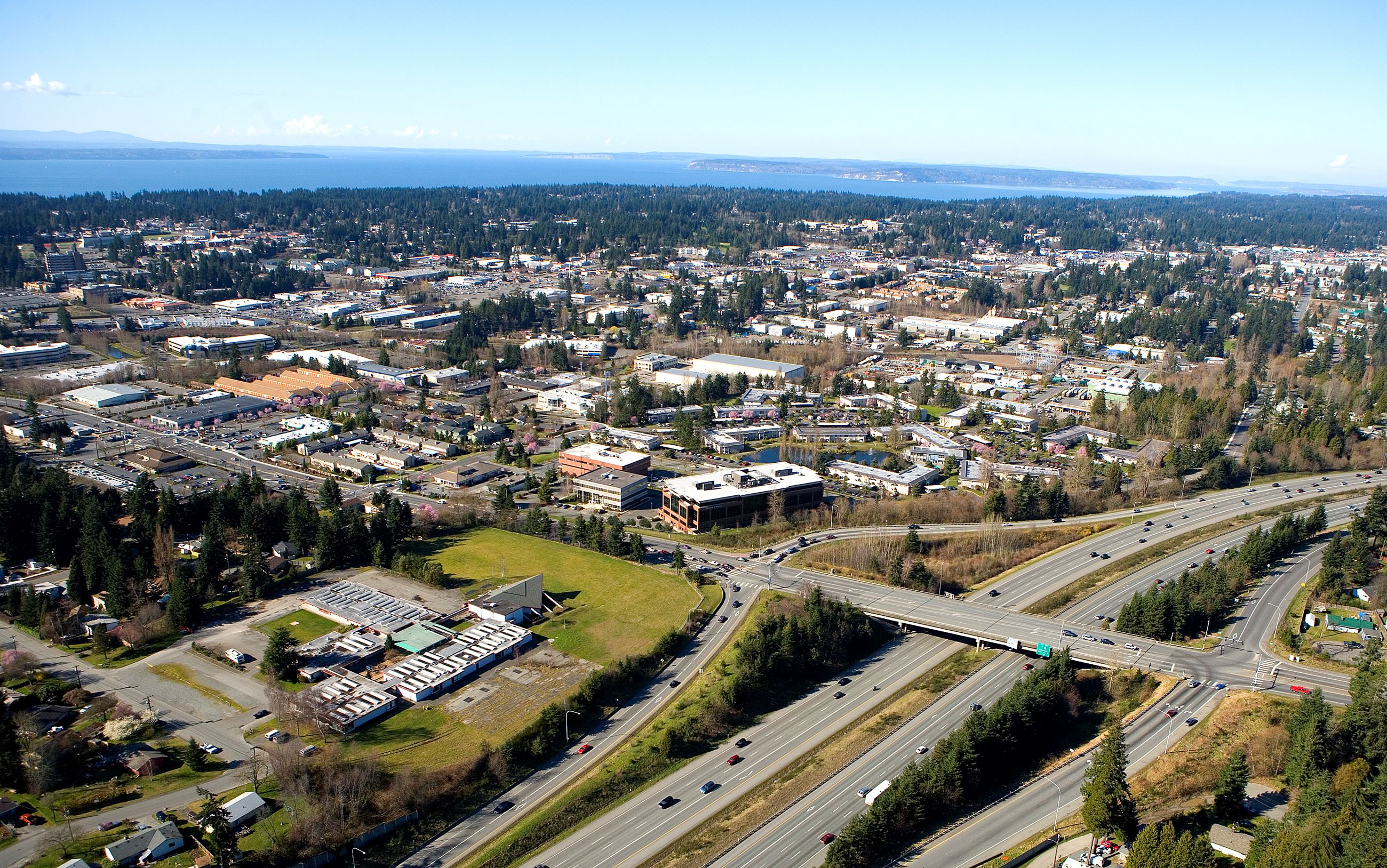 Aerial View of 220th Corridor