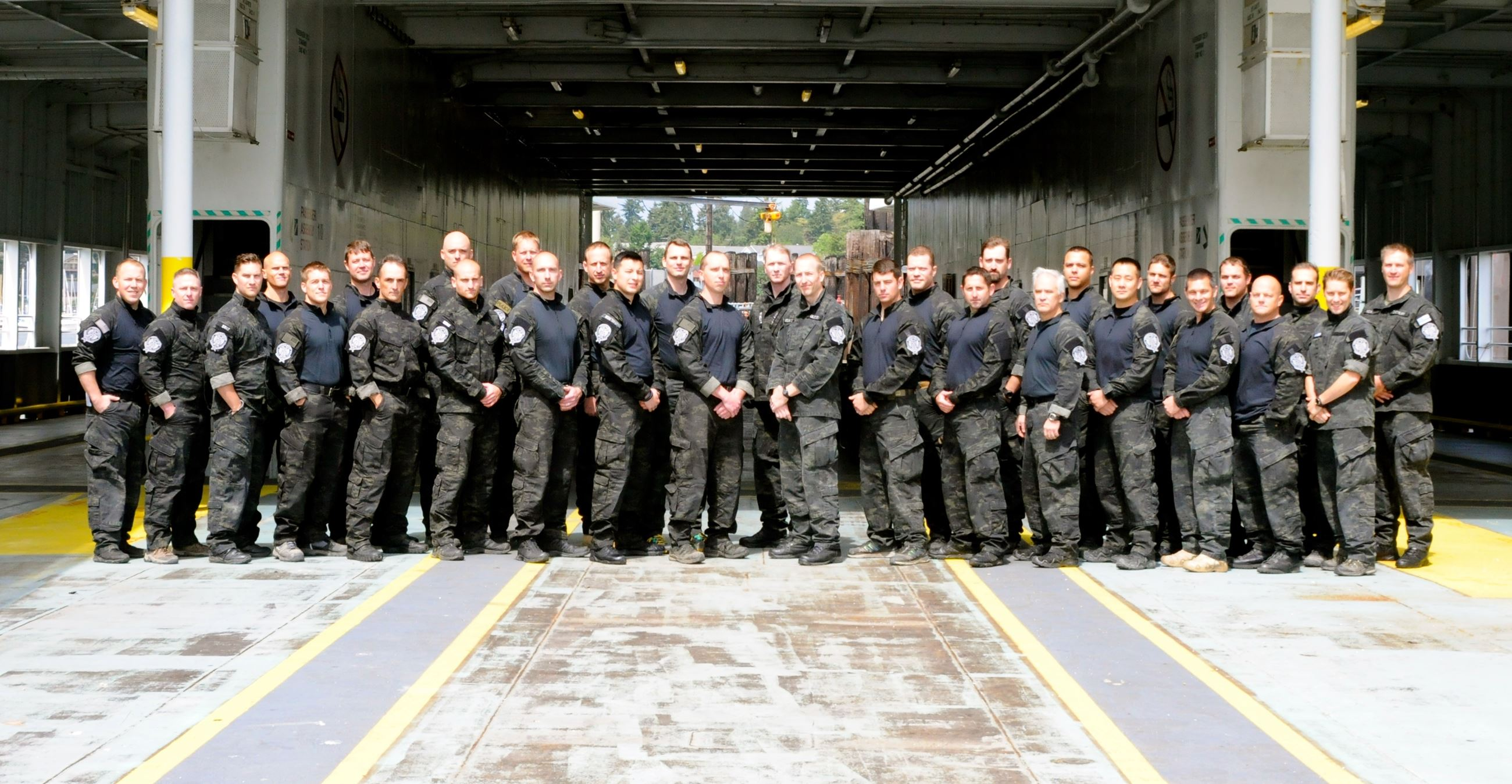 SWAT Team Photo in