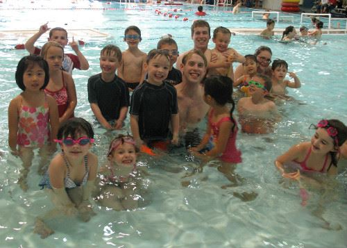Aqua Kids Summer Camp in Pool