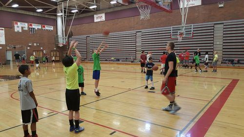 MLT Basketball Camp