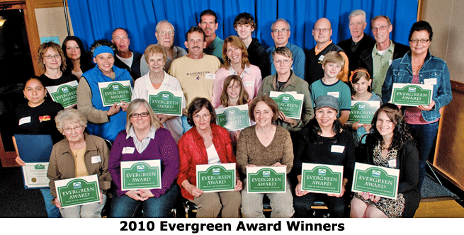 2010 Evergreen Winners