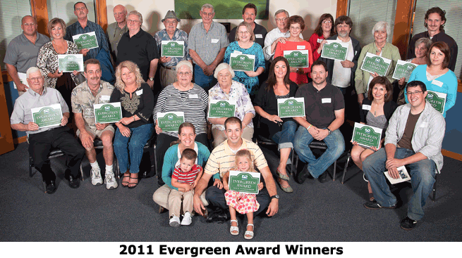 2011 Evergreen Winners